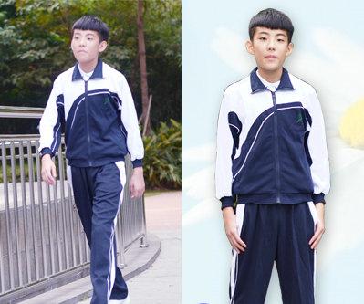 小学生校服长裤配什么鞋好看-深圳宏才校服厂