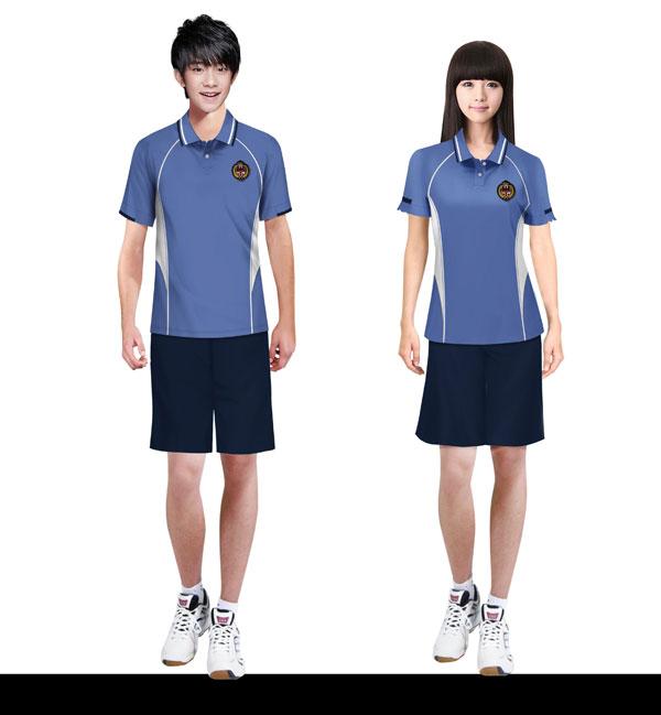 010-中学校服夏季运动装设计图片